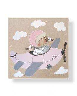 Cuadros infantiles Originales Personalizados Avion