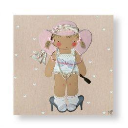 Cuadros Infantiles Originales Personalizados Niña Disfraz