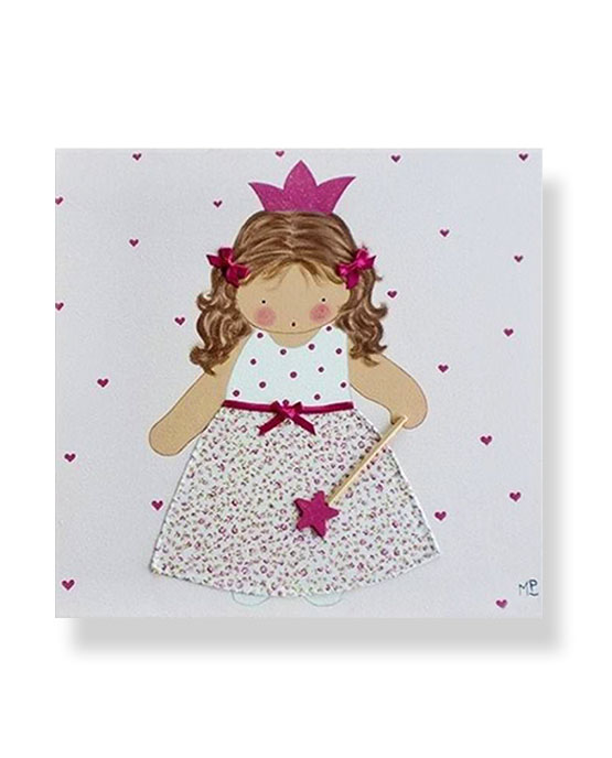 Cuadros Infantiles Originales Personalizados Niña Hada