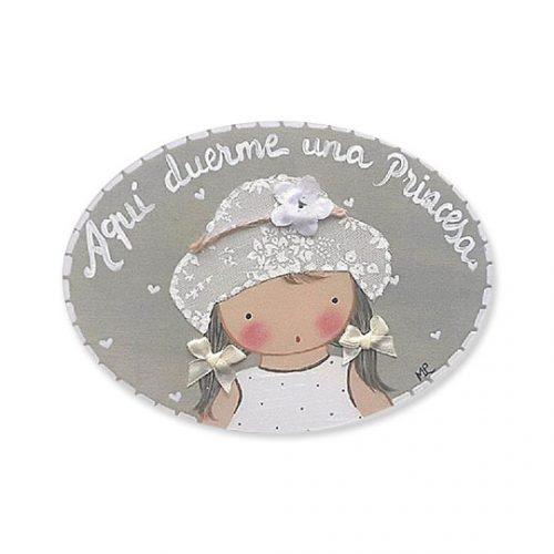 placas para puertas infantiles personalizadas con nombre bebe decorativa artesanal nina nino regalos originales niña