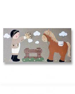 cuadros-infantiles-hermanos-caballos