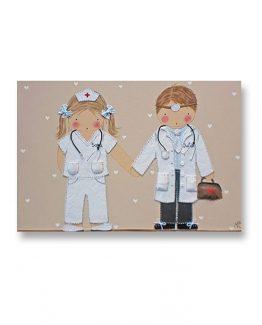 cuadros-infantiles-hermanos-medicos