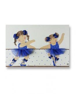 cuadros-infantiles-hermanos-bailarinas