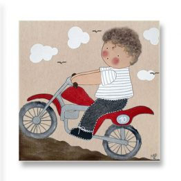 Cuadros Infantiles Originales Personalizados Niño Piloto Coche