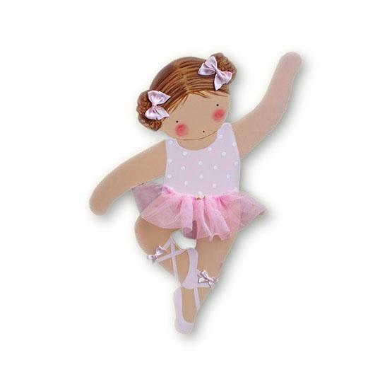 Silueta de madera infantil bailarina pass blaucasa - Siluetas madera infantiles ...