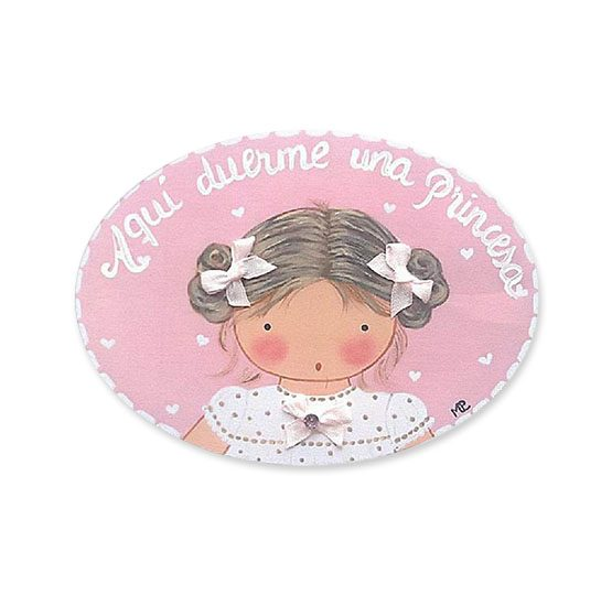 placas para puertas intantiles personalizadas con nombre bebe decorativa artesanal niña niño regalos originales blaucasa moñitos