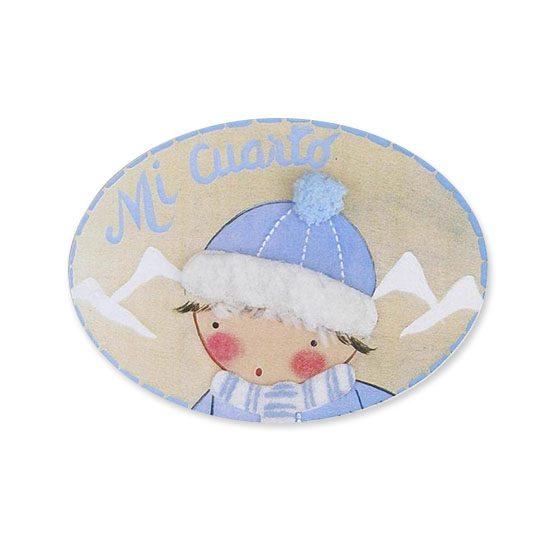 placas para puertas intantiles personalizadas con nombre bebe decorativa artesanal niña niño regalos originales blaucasa