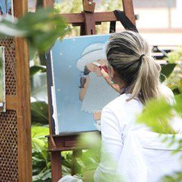 cuadros infantiles artesanales blaucasa