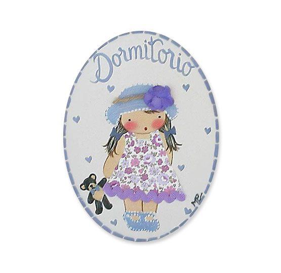 placas para puertas intantiles personalizadas con nombre bebe decorativa artesanal niña niño regalos originales blaucasa pamela