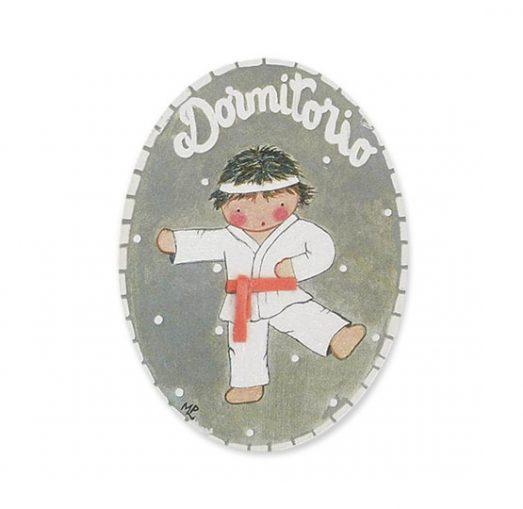 placas para puertas intantiles personalizadas con nombre bebe decorativa artesanal niña niño regalos originales blaucasa karate