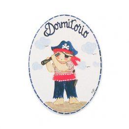 placas para puertas intantiles personalizadas con nombre bebe decorativa artesanal niña niño regalos originales blaucasa piratas