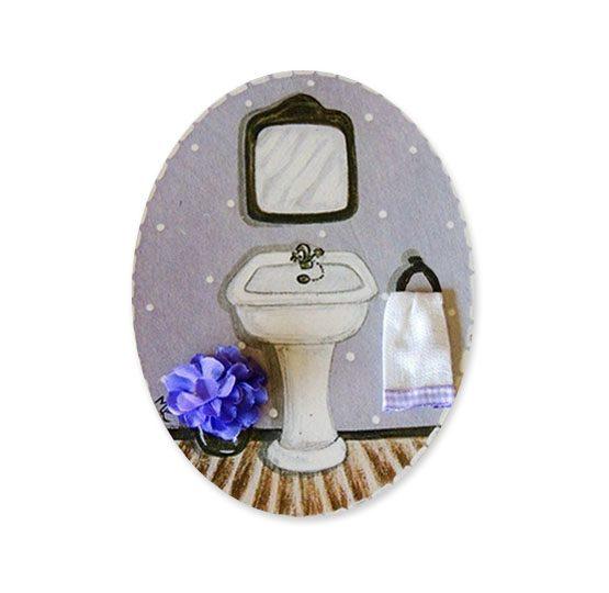 placas para puertas de casa baño lavamanos