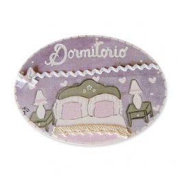 placas para puertas de casa para dormitorio lila