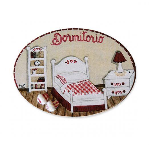 placas para puertas de casa para dormitorio rojo