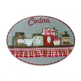 placas para puertas de casa para cocina estantería