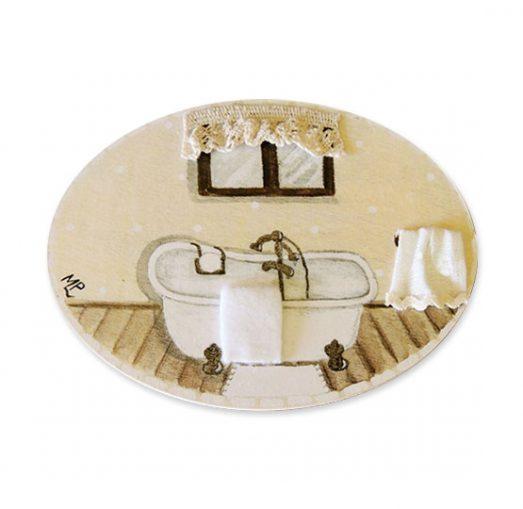 placas para puertas de casa baño con bañera