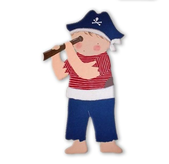 siluetas infantiles de madera personalizadas artesanales para regalos originales niña niño bebe imagenes blaucasa pirata