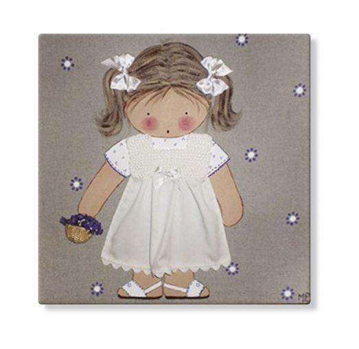cuadros infantiles personalizados con nombre artesanales lienzos decoracion regalos bebes niños niñas blaucasa moto cesto