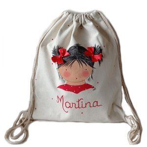 mochila personalizada infantil con nombre blaucasa